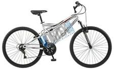 New Pacific 264162PD Derby Mens Mountain Bicycle 26-inch wheel Full/Susp Silver