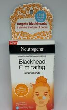 Neutrogena Blackhead Pore Strip to Facial Scrub, Acne Treatment, 14 ea 2 Pack