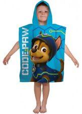 Boys Official PAW Patrol SPY Character Hooded Beach Bath Swimming Towel Poncho