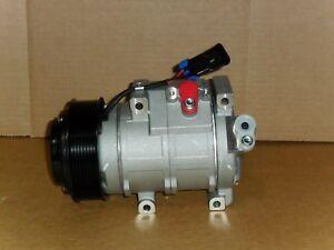 NEW AC COMPRESSOR FITS JOHN DEERE AT367640, SE502623, RE284680,