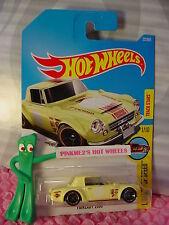 Datsun FAIRLADY 2000 #22✰yellow;orange rim ✰Legends✰2017 i Hot Wheels Case B