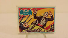"1966 TOPPS BATMAN BLUE BAT SERIES CARD #13B ""Batman's Coffin"""