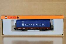 Arnold 4474 échelle N DB KUHNE & NAGEL Rungen Piquet WAGON & CHARGE