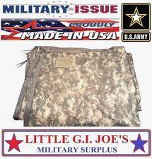 Military Issue Acu Camo Poncho Liner Woobie Blanket Beach Blanket SEE INFO B-/C+