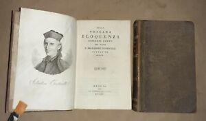 Della Toscana eloquenza discorsi..del padre Salvadore Corticelli -  2 voll. 1825