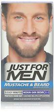 Just for Men Brush Color for Mustache Beard Medium Dark Brown M40(Pack of 12)