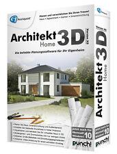 Architekt 3D X8 Home deutsch CD/DVD Box Win Version 18 Punch! + Driver Genius 12