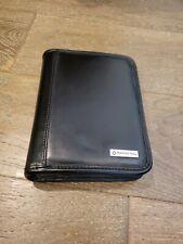 Franklin Covey Black Leather Binder Organizer 75 X 6 Ziparound Daily Planner