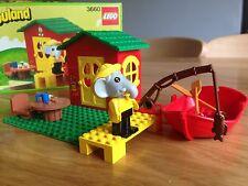 LEGO VINTAGE FABULAND - 3660 - FISHERMANS COTTAGE - RARE BOXED - SCARCE