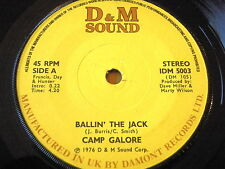 "CAMP GALORE - BALLIN' THE JACK    7"" VINYL"
