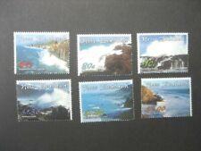 NEW ZEALAND NHM SET-2002 COASTLINES SG 2510/15