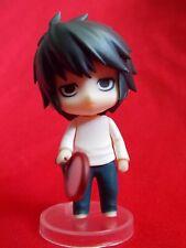 """GENUINE"" Death Note L TENNIS ORIGINAL NENDOROID PUCHI Figure SOLID PVC 2.8"" 7cm"