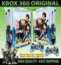 XBOX 360 adesivo Cattivissimo Me GRU Family Agnes aderente & 2 X JOYSTICK