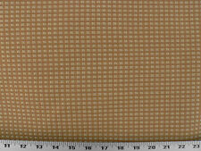 Drapery Upholstery Fabric Blended Wool Great Chair Pattern Plaid - Gold /Tan