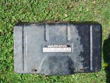 honda HR 214,lawnmower rear grass discharge flap ,plus spring and bracket