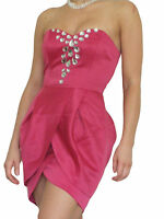 Womens Dress Ladies Evening Cocktail Party Prom New Formal Mini Size 10 12 14 16