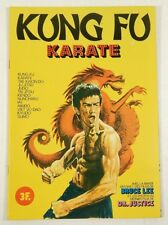 Panini Kung Fu Karate Sticker Album ^ Bruce Lee ^ Dr. Justice ^ Martial Arts
