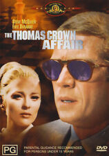 """The Thomas Crown Affair"" Steve McQueen, Faye Dunaway, Paul Burke Drama Romance"