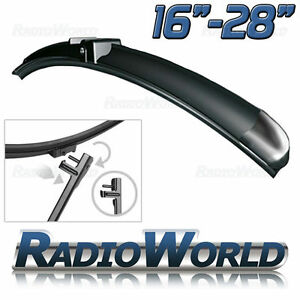 Aero Front Window / Windscreen Side Pin Car Wiper Blade Upgrade Select Size