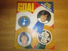 March 3rd 1973, GOAL, David Lawson, Chris Lawler, Tom Forsyth, Cyril Knowles.
