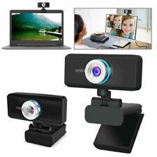 1080P Full HD USB Webcam & Microphone Auto Focus Video Call For Desktop Laptop