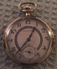 Pocket watch Van Dusen&Stokes Ed. Koehn Geneva 18k gold