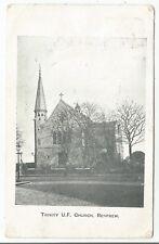 POSTCARDS-SCOTLAND-RENFREW-PTD. Trinity U.F. Church.