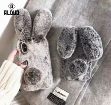 New 3D Easter Rabbit Fur Soft Silicone Rubber Case Cover For iPhone 6 Plus