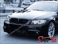 Mist Black Front Grille Grill For BMW 2009-2011 E90 325i 328i 335i 4Dr Facelift