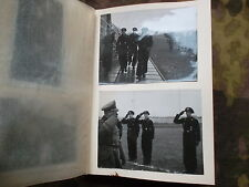 WW2 GERMAN PHOTO album ARMY HEER WH PANZER SOLDIER EARLY WAR beret PICTURES dak