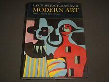 1965 LAROUSSE ENCYCLOPEDIA OF MODERN ART HARDCOVER BOOK - PHOTOS - I 1324