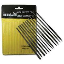 12-Piece Needle File Set from The Beadsmith with Storage Sleeve