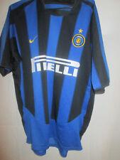 Inter Milan 2003-2004 Home Football Shirt Size Large /24463