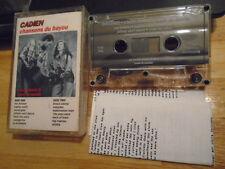 Rare Oop Cadien Cassette Tape Chansons Du Bayou cajun Clair Debrett M. De Basile