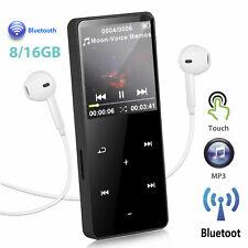 16GB Mini Bluetooth MP3 Music Player FM Hi-Fi Lossless Radio Recorder Speaker