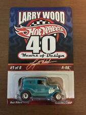 Hot Wheels Red Line Club RLC Larry Wood 40 Years Of Design A-Ok Teal