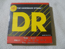 New Sealed The Handmade Guitar String Dr Phr-11 Pure Blues 11 14 18 28 38 50 Set