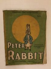 VINTAGE Peter Rabbit Cloth Book - 1908