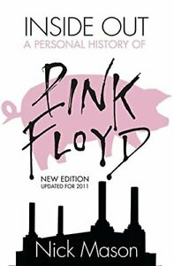 Inside Out: A Personal History of Pink Floyd by Nick Mason Paperback Book The