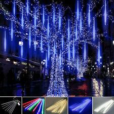 ✅LED 8 Tubes Météore de Pluie Guirlande Lumineuse Lampe Noël Fête Arbre Décor