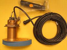 Airmar 200kHz  Bronze Triducer - Thru-Hull 8 pin connector PN#30-522