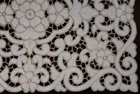 Polyester Embroidered Cutwork Placemats Table Runner Vintage Style Europe Design