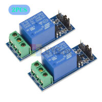 2PCS 12V 1CH 1 Channel Relay Module With Optocoupler Fit For Arduino PIC AVR ARM
