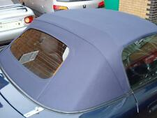 Mazda Mx5 MK2 mSoft Top Blue Mohair Hood with Glass Window