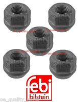 5x New Febi Germany Opel Vauxhall Insignia Wheel Bolt Nut Nuts Set For 1 Wheel