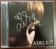 Adele 19 CD Signed Autographed