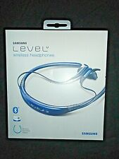 "Samsung LEVEL U Wireless Headphones- Around the Neck Design Blue ""NEW"""