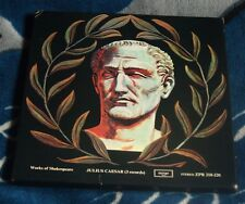 JULIUS CAESAR (WORKS OF SHAKESPEARE ) UK 5LP ARGO ZPR 218-220 FACTORY SAMPLE