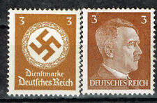 Germany WW2 Third Reich Symbols Hitler Swastika stamps 1942 MHH brn