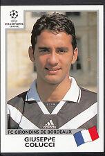 PANINI CALCIO VIGNETTA-UEFA CHAMPIONS LEAGUE 1999-00 - n. 268-BORDEAUX